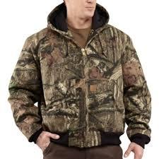 Carhartt Men's Quilted-Flannel Lined Camo Active Jacket &  Adamdwight.com