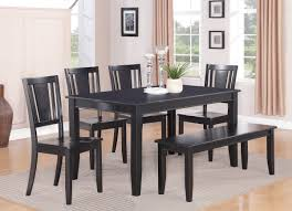black kitchen table with bench. Black Kitchen Table With Bench A