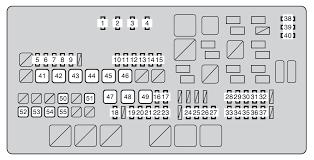 toyota seguoia second generation mk2 2008 2011 fuse box toyota seguoia second generation mk2 2008 2011 fuse box diagram