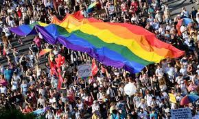 Budapest prepares for pride but for many lgbt+ people it is a worrying time to be in hungary. C7kewmewkeu9lm
