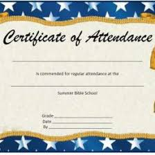 free perfect attendance certificate attendance certificate templates 32311585334 free printable