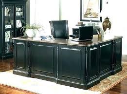 amaazing riverside home office executive desk. Home Office Executive Desk Black Furniture White Riverside Amaazing