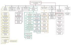 Student Life Org Chart Organizational Structure International Affairs Ttu