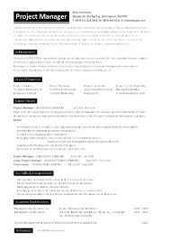 Sample Project Manager Resume Objective Healthcare Project Manager Resume Project Manager Template 22