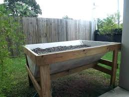 portable raised bed raised garden bed on wheels portable garden beds raised garden beds on legs