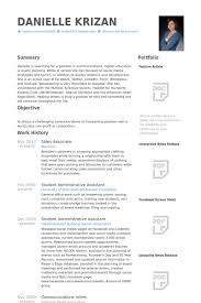 Sales Associate Resume Extraordinary Sales Associate Resume Samples VisualCV Resume Samples Database