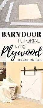 Barn Door Plans Diy 53 Creative And Gorgeous Diy Barn Door Plans And Ideas