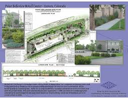Commercial Landscape Design Plans Commercial Mixed Use Landscape Design Kirby Smith