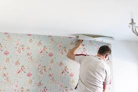 how to hang wallpaper on one wall smooth out wallpaper so much better with