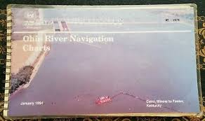 Ohio River Navigation Charts Foster Ky To Cairo Il 1969