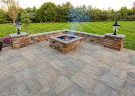 patio ideas with square fire pit. Design Ideas - EP Henry. Fire Pit With PaversPatio Patio Square O