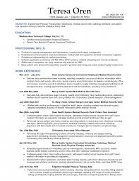 Project Scheduler Resume Examples Sample For Medical Technologist