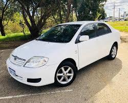 toyota corolla 2005 white. Fine 2005 2005 TOYOTA COROLLA CONQUEST ZZE122R WHITE On Toyota Corolla White O