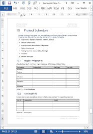Case File Template Business Case Templates Ms Word Templates Forms