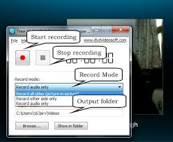 recording a skype call free skype video call recorder to record both parties in video chat