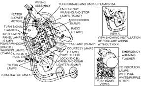 ford diagrams 91 ford fuse locations drawing a