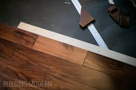 how to install a prefinished hardwood floor