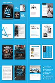 Ebook Template Fitness Ebook Powerpoint Template