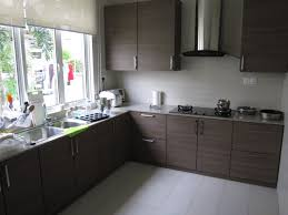 materials and doors design in laminate kitchen cabinets