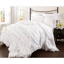 Lush Decor Belle Bedding Lush Decor Belle 100 Piece Comforter Set Queen White Amazon 10