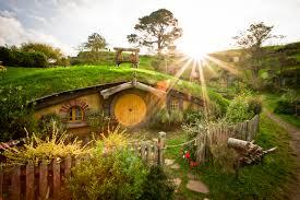 ... New Zealand Hobbit Houses Stunning Hobbit House, New Zealand Photo
