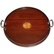 round serving tray with handles style round wood serving tray with silver plated handles for round serving tray