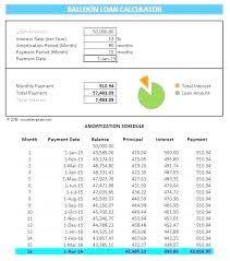 Excel Mortgage Spreadsheet Budget Calculators Printable Amortization Schedule With