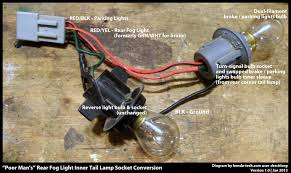diy honda civic 92 95 oem rear fog lamp retrofit install guide rear fog light harness that you are constructing will look like this