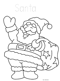 Small Picture Santa Coloring Page Christmas Coloring Book Pictures To Color