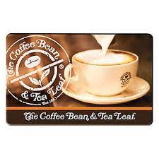 For example, itunes, ebay or amazon often requires you to link your gift card to an account. The Coffee Bean Tea Leaf Four 25 Gift Cards