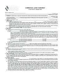 Free Rent Agreement Template Inspiration Business Rental Agreement Template Best Commercial Rental Lease