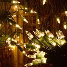 Huacenmy 50 Led Battery Powered Christmas Lights Warm White Led String Lights Mini Christmas Tree Lights Fairy Lights For Christmas Tree Wreath