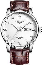 GUANQIN Men Analog Automatic Self-Winding ... - Amazon.com