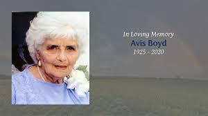 Avis Pruitt Boyd Obituary - Visitation & Funeral Information