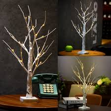 Graham Christmas Table Decoration  Snowy Twig TreeDecorative Twig Tree