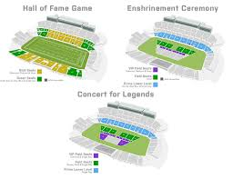 Canton Hall Of Fame Stadium Seating Chart About The Hall Of Fame Enshrinement Week Hof Experiences