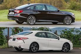 Honda Accord Model Comparison Chart 2018 Honda Accord Vs 2018 Toyota Camry Which Is Better