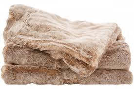 sheridan rochard faux fur throw