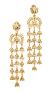 clip on chandelier earrings