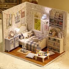 homemade doll furniture. Miniature Dollhouse Furniture Enchanting 1pcs Creative Mini Puzzle Model Handmade Birthday Gift Sunshine Full Diy Wooden Font B Homemade Doll