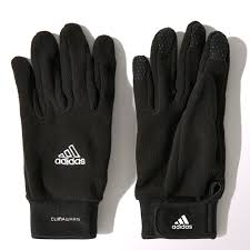 Adidas Climawarm Field Player Soccer Gloves Black White