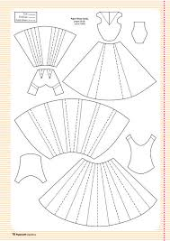 Folding Template For Clothes Free Templates From Papercraft Inspirations 129 Paper