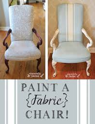 painting fabric furniturePaint a FABRIC Chair  Sincerely Sara D