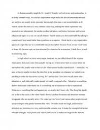 reflection paper human sexuality and relationships essay zoom zoom