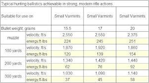Hunting Bullet Size Chart Bedowntowndaytona Com
