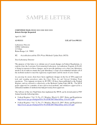 How To Write A Certified Letter World Of Template Format