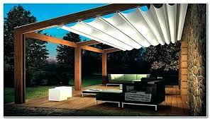 pergola design ideas retractable sun shade for screen shades outdoor patio traditional idea in wall