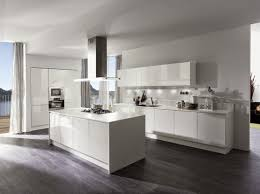 Amazing Dark Laminate Flooring: Can Bring The Beauty To Your Home » Dark Laminate  Flooring In Kitchen With White Gloss Kitchen Cabinet Nice Design