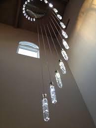 custom crystal pendant custom pendant light