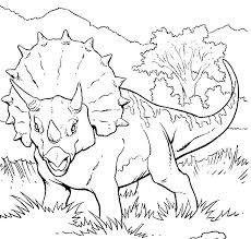 Kleurplaten Dino Tropicalweather